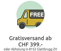 Gratisversand ab 399.- oder Abholung in Glattbrugg Zürich